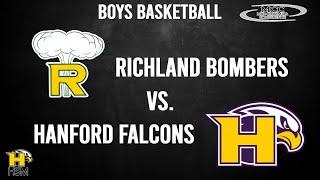 2021 MCC Boys Basketball: Hanford Falcons vs. Richland Bombers