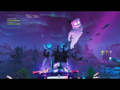 Insane Marshmello Fortnite Event. One Of The Best Views On Youtube! Mp3