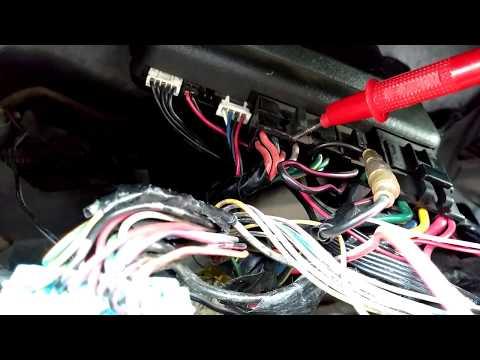 Открытие багажника с сигнализации и с кнопки в салоне