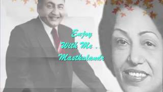 Play Video 'megha re bole ghanan ghanan..Rafi_Majrooh_Usha Khanna..a tribute'