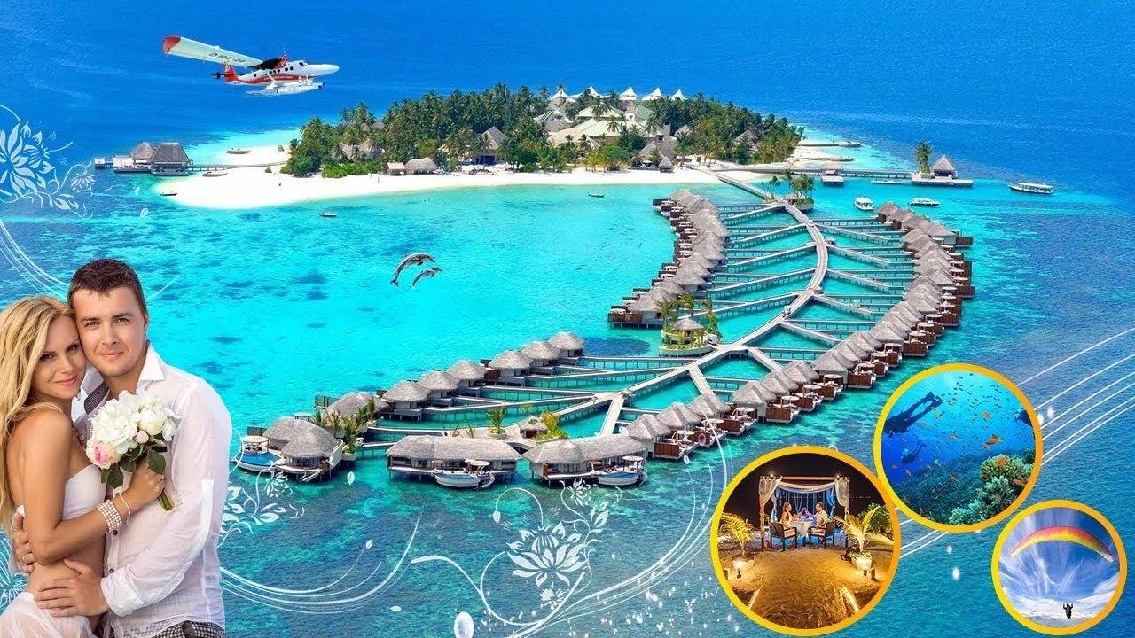 KỲ ẢO SẮC MÀU CỦA NƯỚC BIỂN MALDIVES