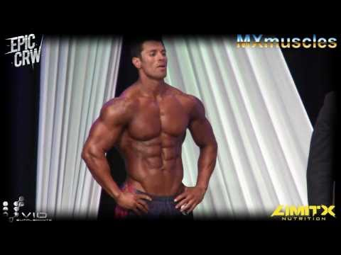 RICARDO DELGADO, IFBB PRO MEN'S PHYSIQUE ON STAGE