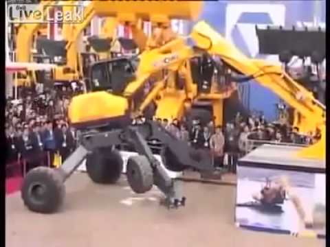 Dredger machine named spider in China 'something amazing'