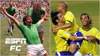 2005 Brazil or 1986 West Germany Which was the better team ESPN FC