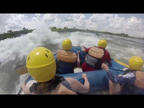 Rafting the Nile - Jinja, Uganda