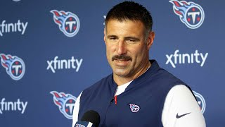 Titans Head Coach Mike Vrabel Recaps Offseason