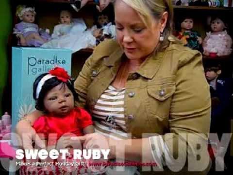 Sweet Ruby, Beautiful African American Baby Doll by Kymberli Durden