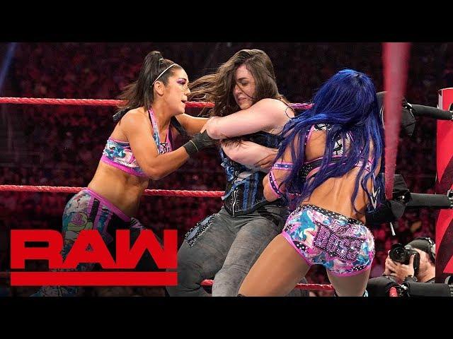 Alexa Bliss & Nikki Cross vs. Sasha Banks & Bayley: Raw, Sept. 16, 2019