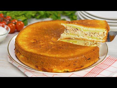 Изумительный заливной пирог! Деликатес из обычных рыбных консервов. Рецепт от Всегда Вкусно!