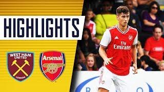 HIGHLIGHTS | West Ham 1 - 1 Arsenal | U18s