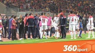 Le360.ma • فيديو خاص من الملعب يوضح عدم انسحاب الوداد ومطالبة الناصيري بالفار