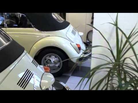vw k fer cabrio 1500 showroom beetle convertible youtube. Black Bedroom Furniture Sets. Home Design Ideas