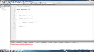 C++ Programming Tutorials: 11 - LOOPS: FOR and WHILE