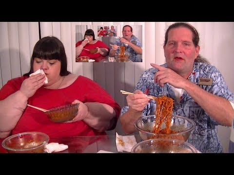 Samyang Mala and 2X taste test with Hungry Fat Chick!
