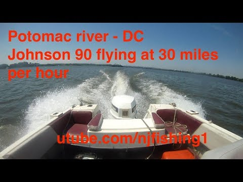 Johnson 90 hp outboard bogging down in water (2 of 2) - FIXED!