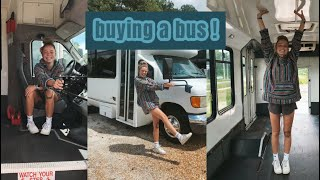 I BOUGHT A BUS !!  (a week in my life)