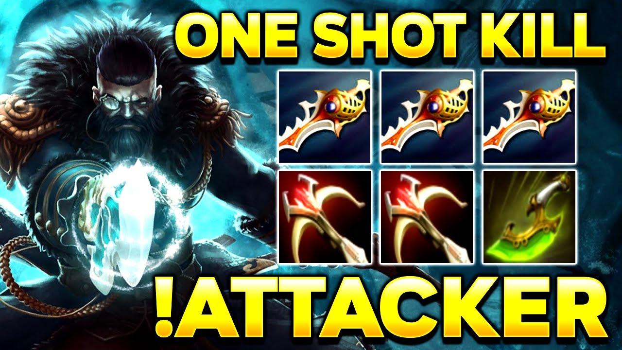 Download !Attacker Best Kunkka in the World - One Shot 3x RAPIER Build - Dota 2