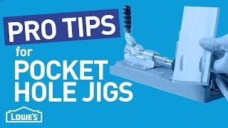 Pro Tips for Pocket Hole Jigs | Beyond The Basics