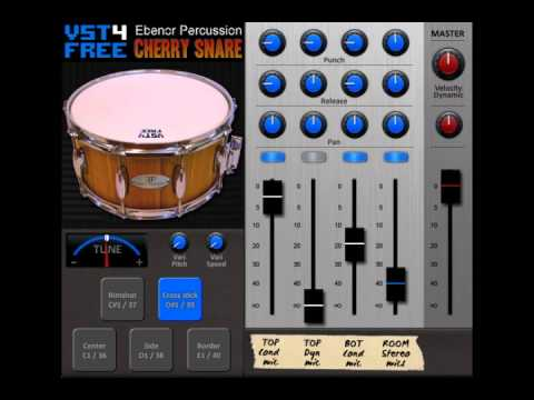 Cherry Snare VST by VST4FREE