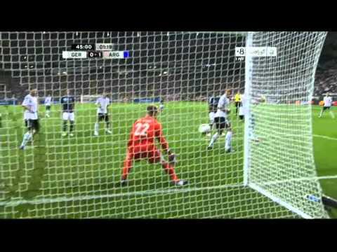 Sami Khedira Own Goal Germany v Argentina 0-1