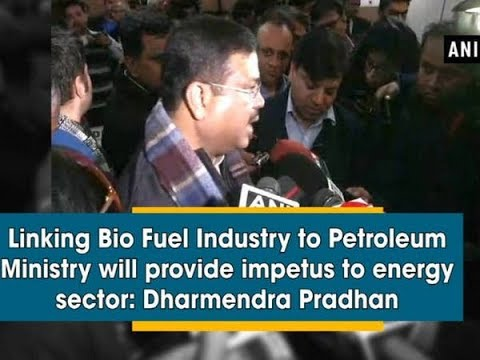 Linking Bio Fuel Industry to Petroleum Ministry will provide impetus to energy sector: Pradhan