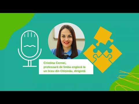 Cristina Cernei, profesoară