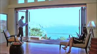 NanaWall Glass Door on the Beach - Glass Wall Systems