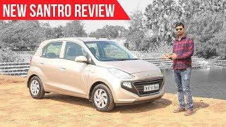 2018 Hyundai Santro Drive Review In Hindi, Mileage Test