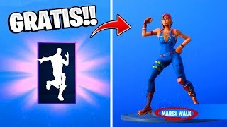 Nouveau SKINS, Peaks, Dances and Emotes 'FREE' à Fortnite: battle royale!!