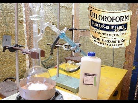 Хлороформ изготовление в домашних условиях