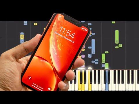 iPhone XS / XR Ringtone Remix - NPT MUSIC Remix - Piano Cover