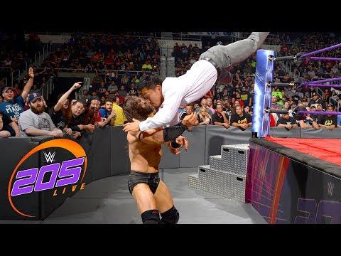Neville interrupts Akira Tozawa's championship celebration: WWE 205 Live, Aug. 15, 2017