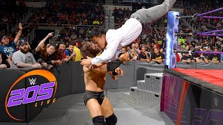 During Titus Worldwide's Cruiserweight Championship Celebration for...