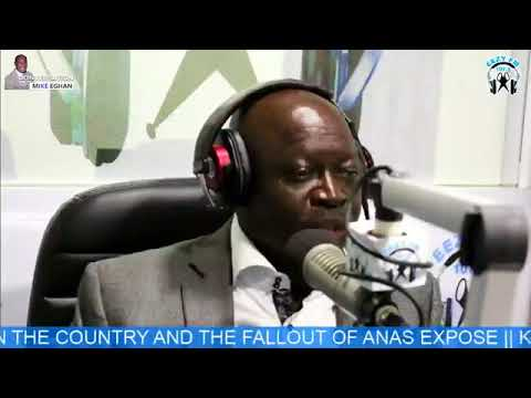 Kwabena Yeboah on Conversation With Mike Eghan