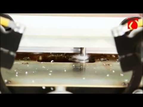 Оборудование для фрезерования отверстий под ручки и замок