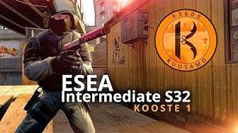 ESEA Intermediate S32 kooste 1 vol. 2 | CS:GO Suomi | KUUSAMO.gg