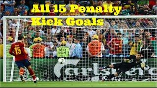 Sergio Ramos - All 15 Penalty Kick Goals