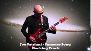 Joe Satriani  - Summer Song (Backing Track)
