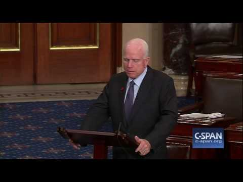 Sen. John McCain opposes nomination of Rep. Mick Mulvaney to be OMB Director (C-SPAN)
