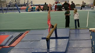 Annie the Gymanst | Level 7 Gymnastics Meet 2 | Acroanna