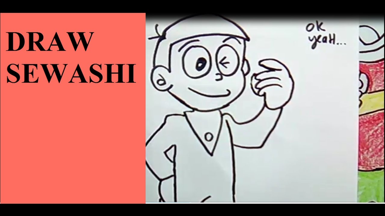 How to draw sewashi – vẽ sewashi