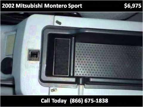 2002 Mitsubishi Montero Sport Used Cars La Puente CA