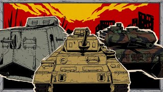 Evolution of German Tanks | Animated History