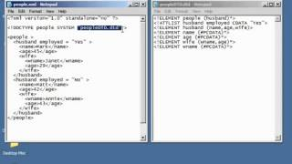 XML Tutorial   30 Internal & External DTD Schema