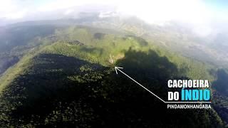 Cachoeira do Índio em plena serra da Mantiqueira - Pindamonhangaba