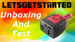 Cheap 150w inverter Unboxing and test