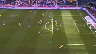 Gambar cover Sverige - Färöarna Zlatan Ibrahimovic 1-0