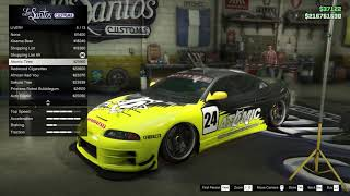 GTA 5 Online Maibatsu Penumbra FF Customization + Top Speed Test (Paul Walker's Mitsubishi Eclipse)