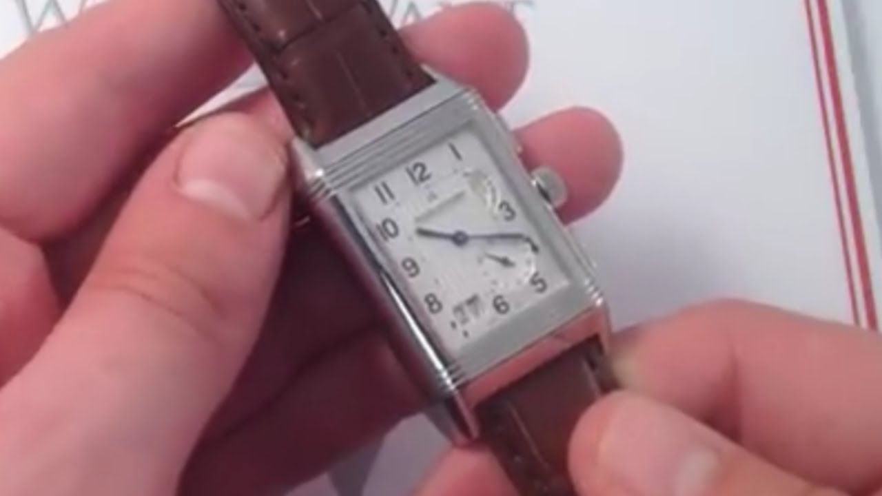 be1c8beec1094 Jaeger-LeCoultre Reverso Grande GMT Luxury Watch Review - YouTube
