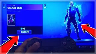 How To Get FREE SKINS In Fortnite Battle Royale | Free Galaxy Skin (PS4 & Xbox One)